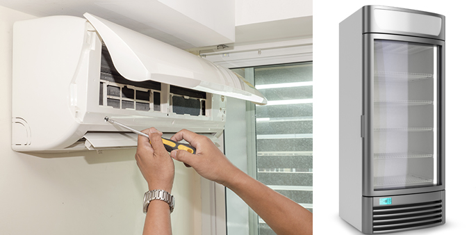 we repair and service aircon and refrigerator